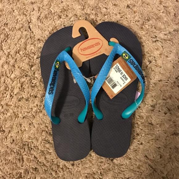 825ee2863 Havaianas Brazil Mix Flip-flops Sandals Size 6 NWT